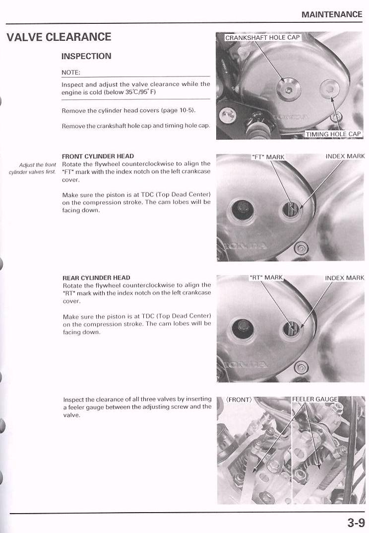 Valve Adjustment Vt750dc Wiring Diagram Click On A Thumbnail To Enlarge