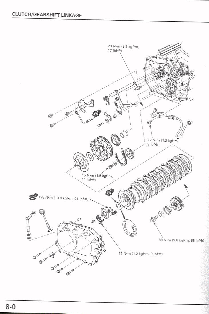 Changing The Clutch Springs 1983 Honda Vt750 Shadow Wiring Diagram 8 0 85350 Bytes